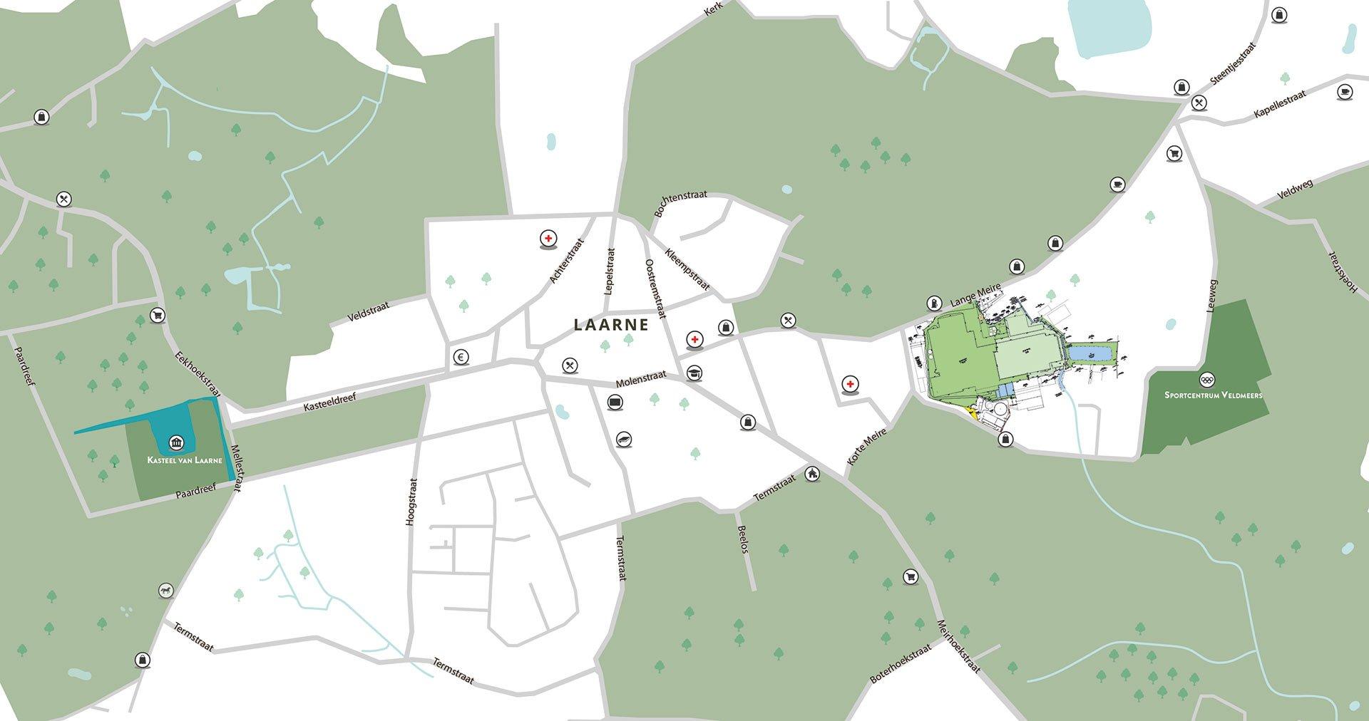 Laarne-fabriek-Microfibres-liggingsplan